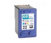 RECARGA cartucho HP 22 Colorido CX 01 UN