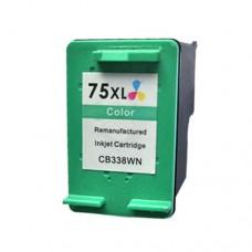 RECARGA cartucho HP 75XL Colorido CX 01 UN