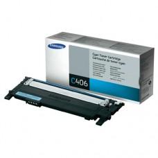 Toner Original Samsung C406 ciano - CLT-C406S - CX 01 UN