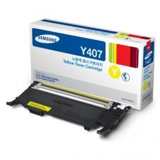 Toner Original Samsung Y407 amarelo - CLT-Y407S - CX 01 UN