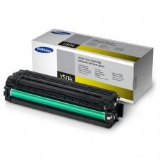 Toner Original Samsung Y504 amarelo - CLT-Y504S - CX 01 UN