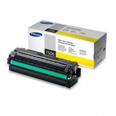 Toner Original Samsung Y506 amarelo - CLT-Y506L - CX 01 UN